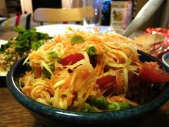 Thai food_som tam
